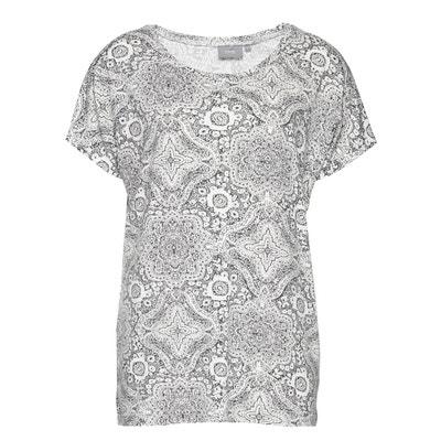 Short-Sleeved Printed T-Shirt Short-Sleeved Printed T-Shirt B.YOUNG