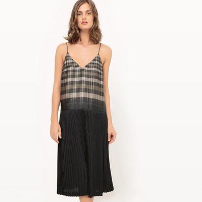 Vestido de alças finas Léa Peckre x La Redoute