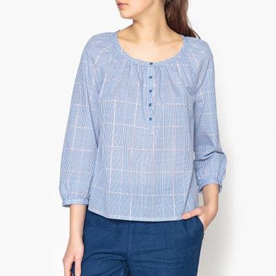 Losse blouse met glanzende ruiten, LIMONADE Losse blouse met glanzende ruiten, LIMONADE HARRIS WILSON