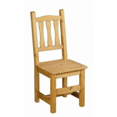 Chaise salle a manger bois massif