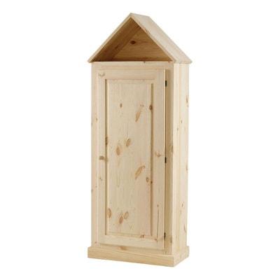 armoire maison pin massif brut 1 porte matendance armoire maison pin massif brut 1 porte matendance