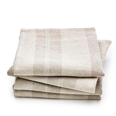 Confezione da 4 tovaglioli in lino, Monodie AM.PM.