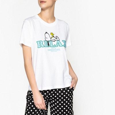 T shirt à motif SNOOPY  PALEA ESSENTIEL ANTWERP
