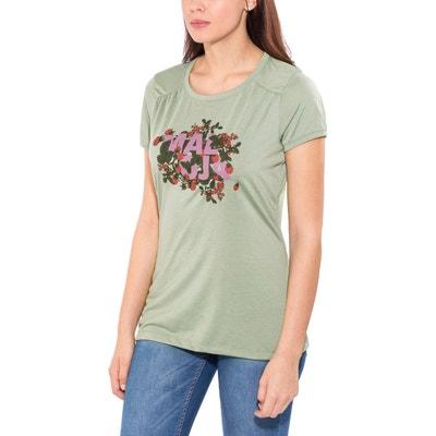 e9fef30c9a4a Multi - T-shirt manches courtes Femme - vert Multicolore HalfingM. MALOJA