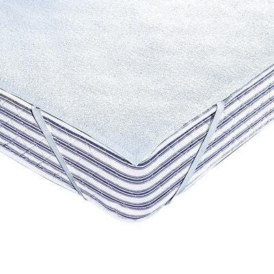 Protège-matelas éponge 250 g/m² enduite polyuréthane imperméable Protège-matelas éponge 250 g/m² enduite polyuréthane imperméable REVERIE