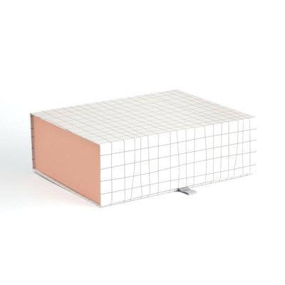 Boite carton imprimé pliable GIOMA Boite carton imprimé pliable GIOMA LA REDOUTE INTERIEURS