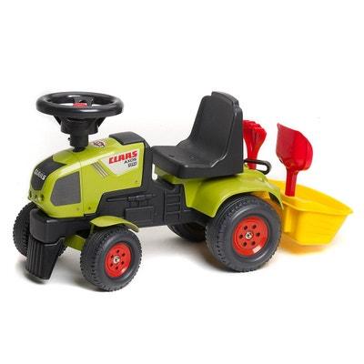 Porteur Tracteur Baby Claas avec mini remorque, pelle et râteau inclus -  FAL1012A FALK 162b138a2eeb