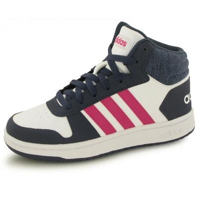 san francisco 4e369 00978 Baskets Adidas Hoops Mid 2.0 Blanc Enfant adidas
