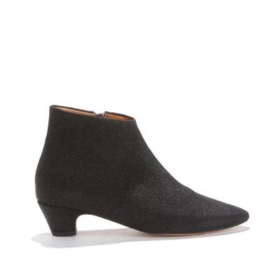 Boots à petit talon, cuir de veau KYRA GLITTER Boots à petit talon, cuir de veau KYRA GLITTER ANONYMOUS COPENHAGEN