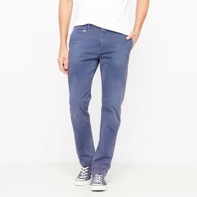 Pantalón corte slim 5 bolsillos de algodón stretch Pantalón corte slim 5 bolsillos de algodón stretch PETROL INDUSTRIES