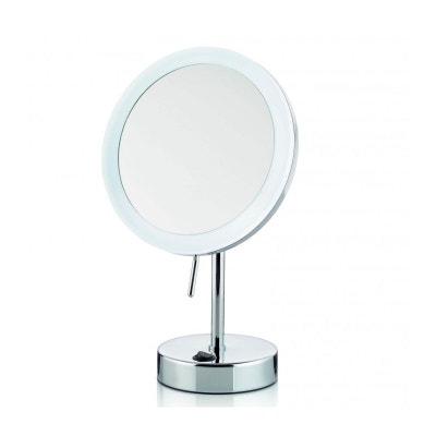coiffeuse avec miroir lumineux la redoute. Black Bedroom Furniture Sets. Home Design Ideas