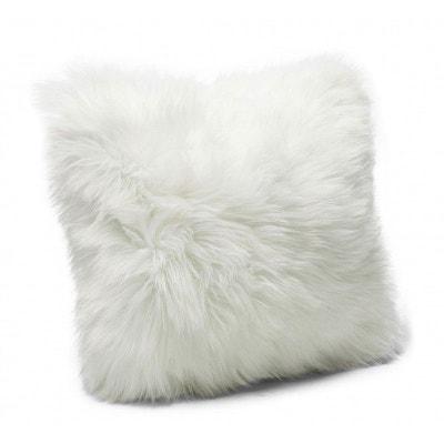 Coussin Fourrure blanc 40x40cm Kare Design Coussin Fourrure blanc 40x40cm Kare Design KARE DESIGN