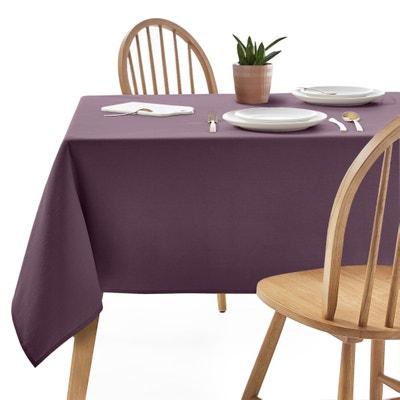 Toalha de mesa lisa, sarjado puro algodão, tratamento antinódoas Toalha de mesa lisa, sarjado puro algodão, tratamento antinódoas La Redoute Interieurs