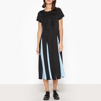 Платье расклешенное с короткими рукавами Платье расклешенное с короткими рукавами SISTER JANE