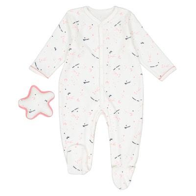Pyjama + doudou étoile naissance Préma - 2 ans Pyjama + doudou étoile naissance Préma - 2 ans La Redoute Collections