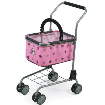 d295b6d43b43 Bayer Chic 2000 761 83 Chariot de supermarché (jouet) métallique et tissus  Coloris 83