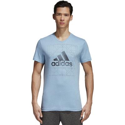 T-shirt col rond avec motif adidas Performance