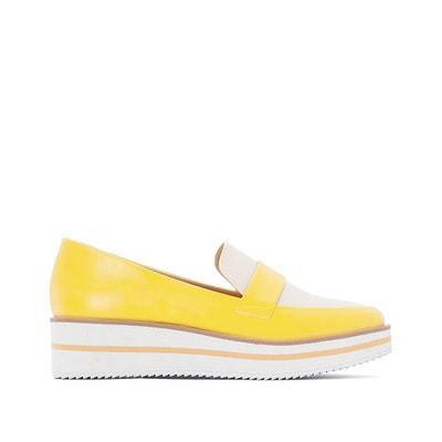Wedge Heel Loafers Wedge Heel Loafers La Redoute Collections