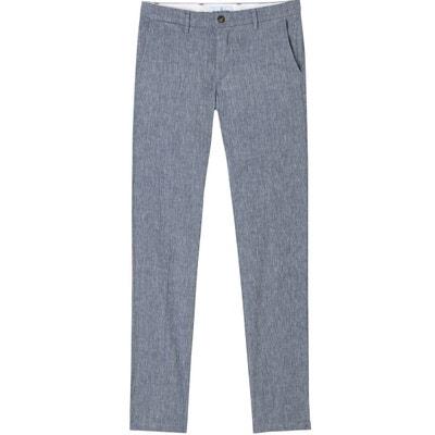 EUROPANN. DYLAN - Pantalon en lin décontracté encre. 100,00 € · GORDON -  Pantalon chino slim fit lin chiné marine GORDON - Pantalon chino slim fit  lin effa9811ce8b
