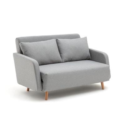 canape 2 places gris en solde la redoute. Black Bedroom Furniture Sets. Home Design Ideas
