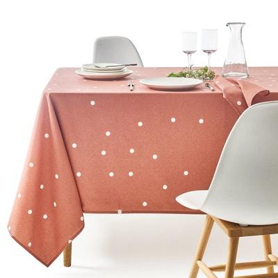 Bedrukt tafellaken in gecoat tergal AURELIA Bedrukt tafellaken in gecoat tergal AURELIA La Redoute Interieurs