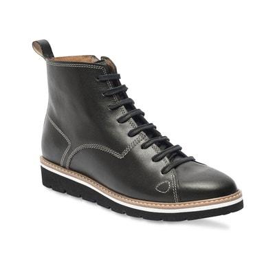 Boots montantes cuir à lacets CASIMIR Boots montantes cuir à lacets CASIMIR  TBS 69016a15b6ae