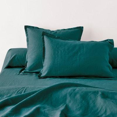 Taie d'oreiller ou de traversin pur LIN LAVE Taie d'oreiller ou de traversin pur LIN LAVE LA REDOUTE INTERIEURS