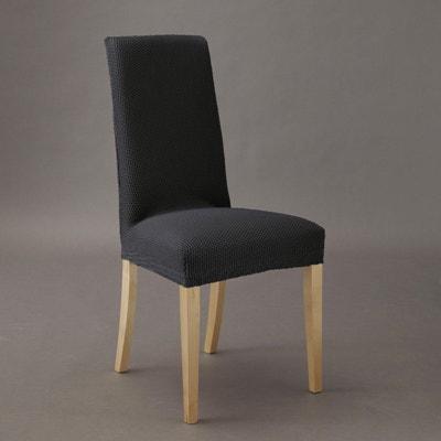 Capa extensível para cadeira, aos favos, AHMIS Capa extensível para cadeira, aos favos, AHMIS La Redoute Interieurs