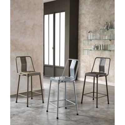 tabouret m tal en solde la redoute. Black Bedroom Furniture Sets. Home Design Ideas