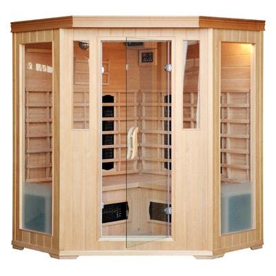Cabine sauna luxe infrarouge, 3/4 places CONCEPT USINE