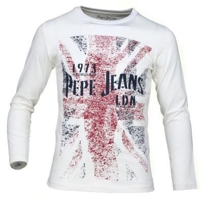 Tee Shirt Byron Jr Pb502210 Tee Shirt Byron Jr Pb502210 PEPE JEANS 7e24e48ac23c