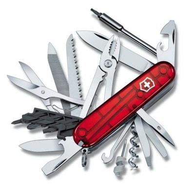 Couteau Suisse de Poche - Victorinox Cyber Tool 41 Outils - 1.7775.T - Rouge Transparent Couteau Suisse de Poche - Victorinox Cyber Tool 41 Outils - 1.7775.T - Rouge Transparent VICTORINOX