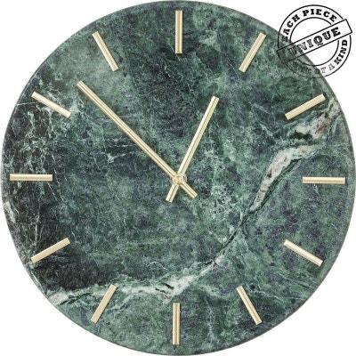 Horloge murale Desire marbre vert Kare Design Horloge murale Desire marbre vert Kare Design KARE DESIGN