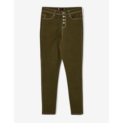 Pantalon skinny taille haute Pantalon skinny taille haute JENNYFER