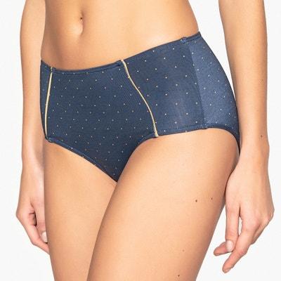 Cuecas de biquíni modeladoras, de cintura subida, às bolas Cuecas de biquíni modeladoras, de cintura subida, às bolas La Redoute Collections