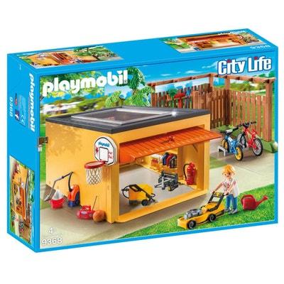 PLAYMOBIL 9368 Garage avec emplacements pour vélos PLAYMOBIL 9368 Garage avec emplacements pour vélos PLAYMOBIL