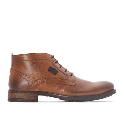 Filet Leather Ankle Boots Filet Leather Ankle Boots REDSKINS
