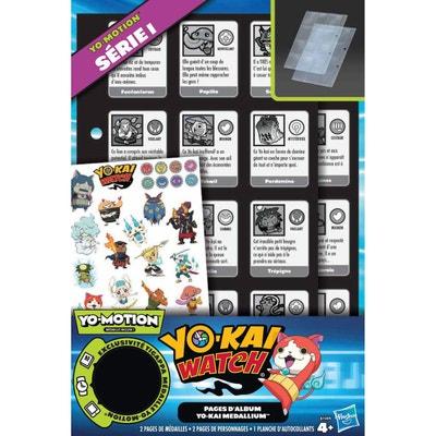 Yo-Kaï Watch : Pages pour album Medallium Yo-Motion Série I Yo-Kaï Watch : Pages pour album Medallium Yo-Motion Série I HASBRO