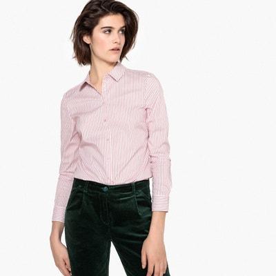Chemise rose femme en solde   La Redoute 0ba9dab90e65
