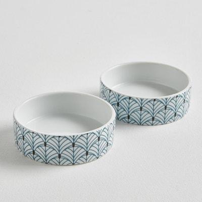 Confezione da 2 contenitori in porcellana Confezione da 2 contenitori in porcellana La Redoute Interieurs