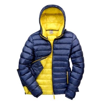 Doudoune bicolore bleu jaune Doudoune bicolore bleu jaune FASHION CUIR 616619e093c7