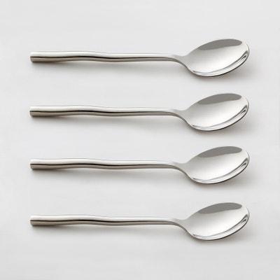 Confezione da 4 cucchiai in acciaio inossidabile, ANDRINE La Redoute Interieurs