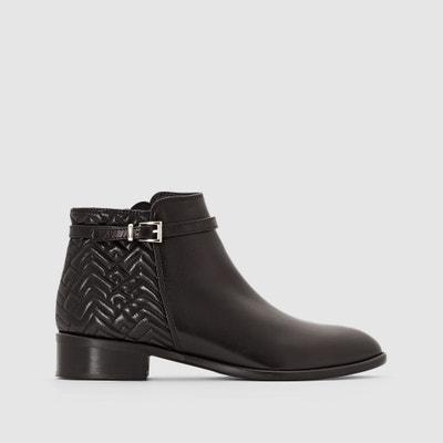 """Leder-Boots mit Riemen """"Dorris"""" Leder-Boots mit Riemen """"Dorris"""" HEYRAUD"""