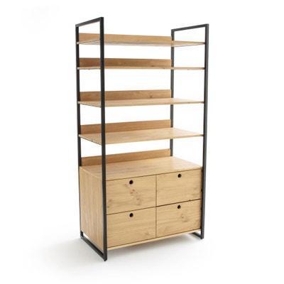 Hiba Large 4 Drawer 4 Shelf Wardrobe Module Hiba Large 4 Drawer 4 Shelf Wardrobe Module La Redoute Interieurs