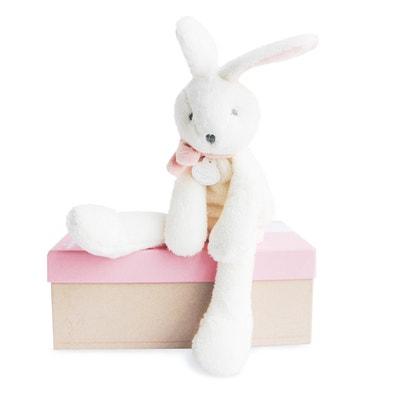 Coelhinho cor-de-rosa 30cm - J'aime mon doudou DOUDOU ET COMPAGNIE