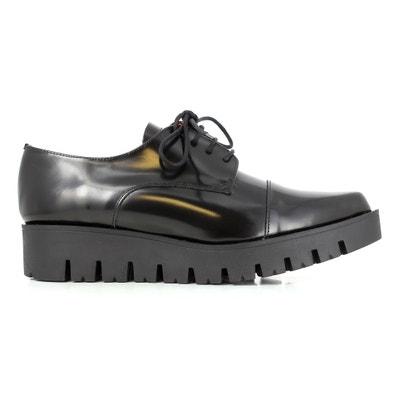 Sapatos derbies em pele e rasto espesso MILLAU ELIZABETH STUART