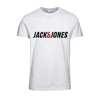 T-shirt scollo rotondo, maniche corte JACK & JONES