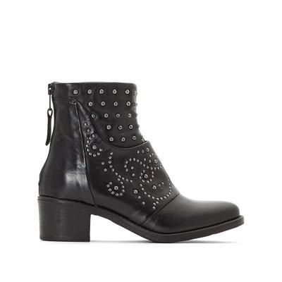 Boots cuir Flyn Boots cuir Flyn MJUS
