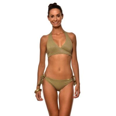 Bas de maillot de bain 2 pieces femme uni JUSTE KERIOS Bas de maillot de  bain. LIVIA 28db0287e8b6