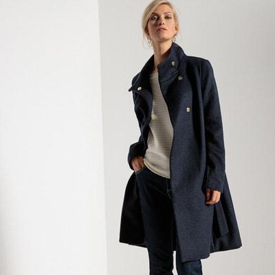 Manteau mi-long fermeture pressionnée ANNE WEYBURN